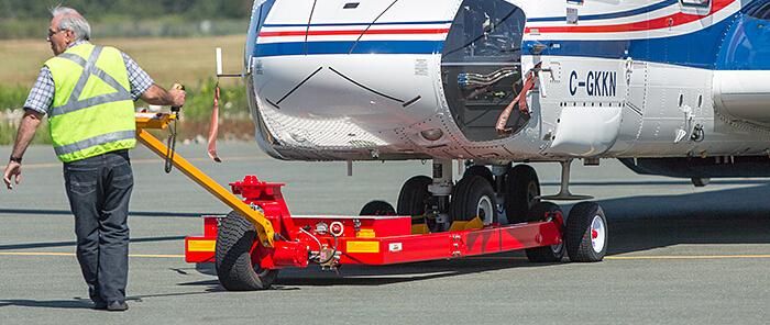 towcart电动直升机牵引车
