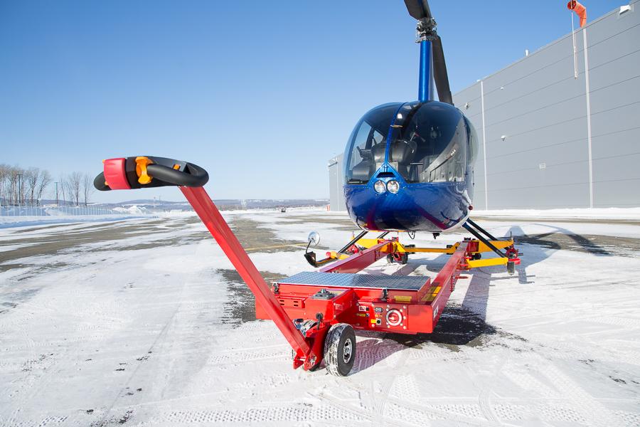 heli towcart电动直升机牵引车 飞机牵引车移动车